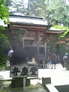 中尊寺弁慶堂