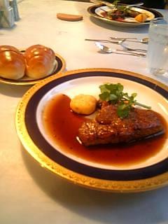 軽井沢でフランス料理