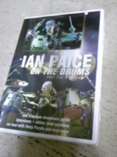 イアン・ペイス On The Drums