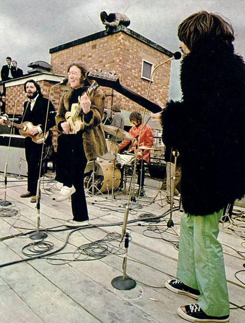 43年前の屋根の上