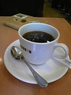 お昼のコーヒーはDOUTOR<br />  で